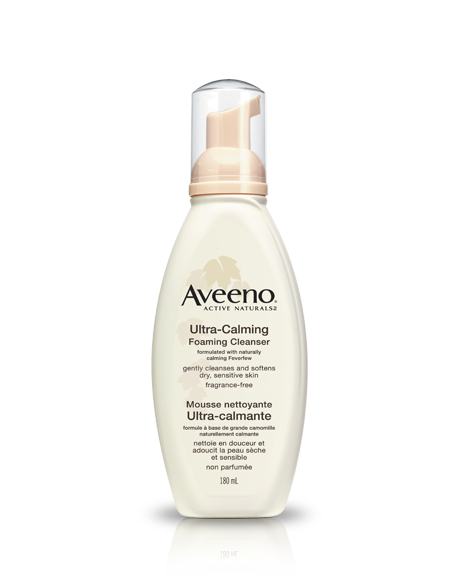Ultra Calming Foaming Facial Cleanser by Aveeno #8
