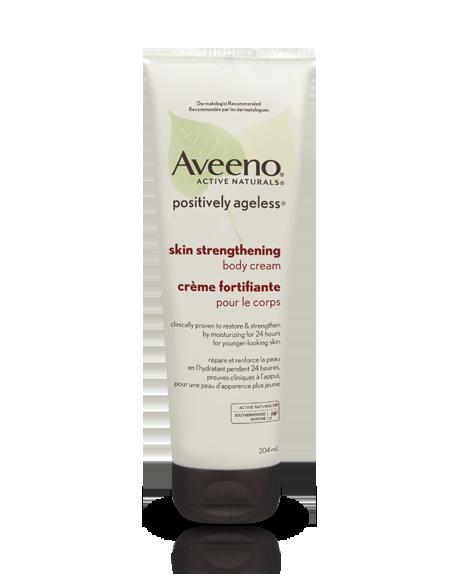 AVEENO® POSITIVELY AGELESS® Skin Strengthening Body Cream