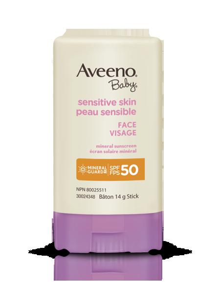 AVEENO® BABY® Sensitive Skin Face Sun Stick SPF 50