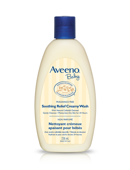 AVEENO® BABY® Soothing Relief Creamy Wash