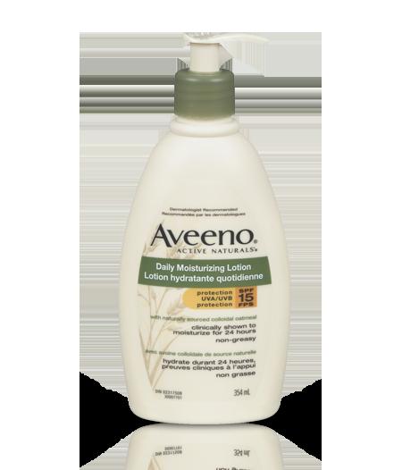 AVEENO® 日常防曬保濕潤膚露,SPF 15