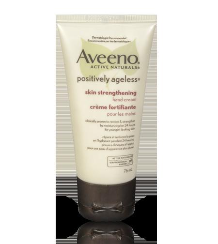 AVEENO® POSITIVELY AGELESS® Skin Strengthening Hand Cream