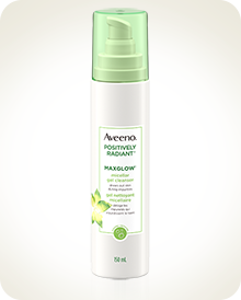 AVEENO® POSITIVELY RADIANT® MAXGLOW™ Micellar Gel Cleanser