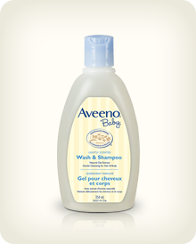 AVEENO® BABY® 沐浴及洗髮水