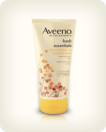 AVEENO® FRESH ESSENTIALS® Daily Exfoliating Scrub