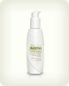 AVEENO® POSITIVELY AGELESS® Daily Exfoliating Cleanser