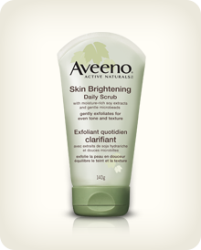 AVEENO®  POSITIVELY RADIANT® Skin Brightening Daily Scrub