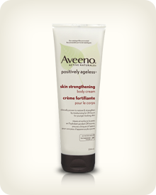 AVEENO® POSITIVELY AGELESS® 緊膚乳霜