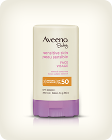 AVEENO® BABY® Sensitive Skin Face Sun Stick SPF 50