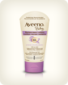 AVEENO® BABY® Sunscreen Lotion SPF 55