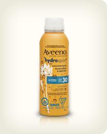 AVEENO® HYDROSPORT® Sunscreen Spray SPF 30