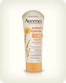 AVEENO® PROTECT + HYDRATE™ Sunscreen Lotion SPF 30