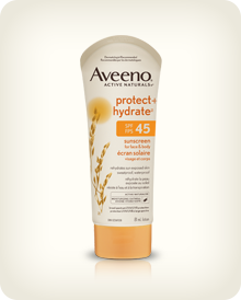 AVEENO® PROTECT + HYDRATE™ Sunscreen Lotion SPF 45