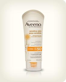 AVEENO® Sensitive Skin Sunscreen Lotion SPF 50