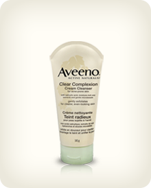 AVEENO® CLEAR COMPLEXION® Cream Cleanser