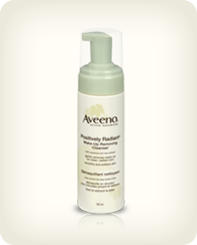AVEENO® POSITIVELY RADIANT® Makeup Removing Cleanser