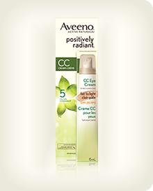 AVEENO® Positively Radiant® CC Eye Cream