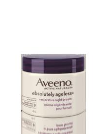 AVEENO<sup>®</sup> Absolutely Ageless™ Restorative Night Cream